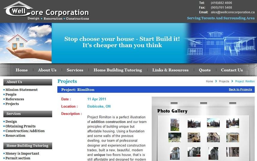 Toronto Web Development & Design Company   Professional Websites   Wellcore  Corporation